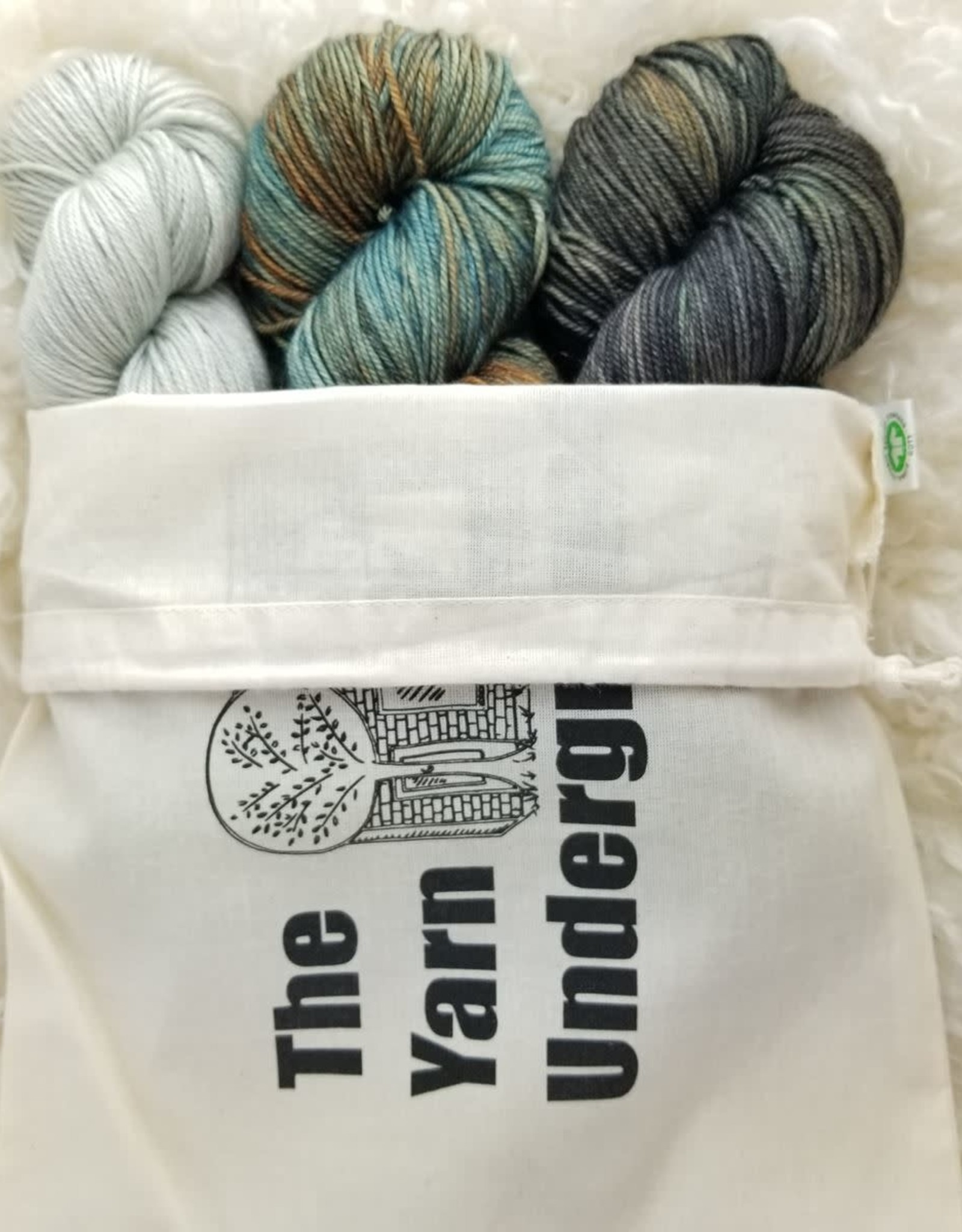 Palouse Yarn Co Squeeze Set of 3--  Wild Nights