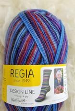 Regia Design Line 4ply KF M355-3862 Blue Velvet