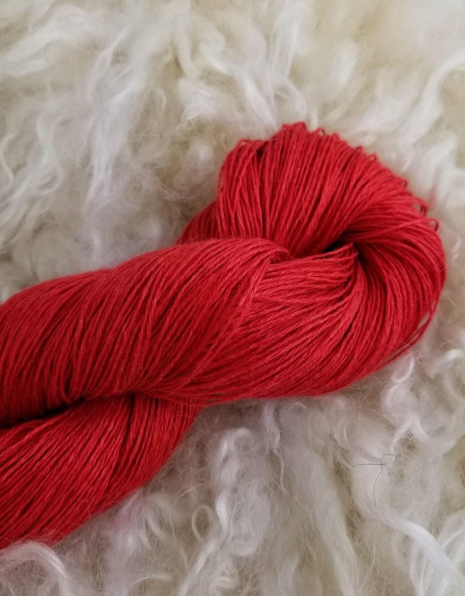 Flax Lace 100g 115 Poppy