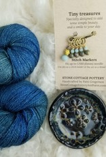 Palouse Yarn Co LYS Day Lace Set Pend Oreille + Black Dish