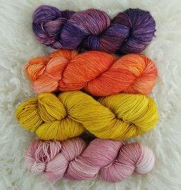 Palouse Yarn Co SET of 4 Merino Fine-  Warm Up!