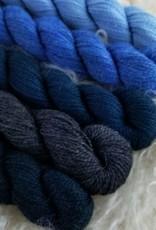 Amble Sock Mini 25g wide blue yonder
