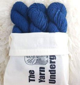 Palouse Yarn Co Nebraska Trio Ocean Blue