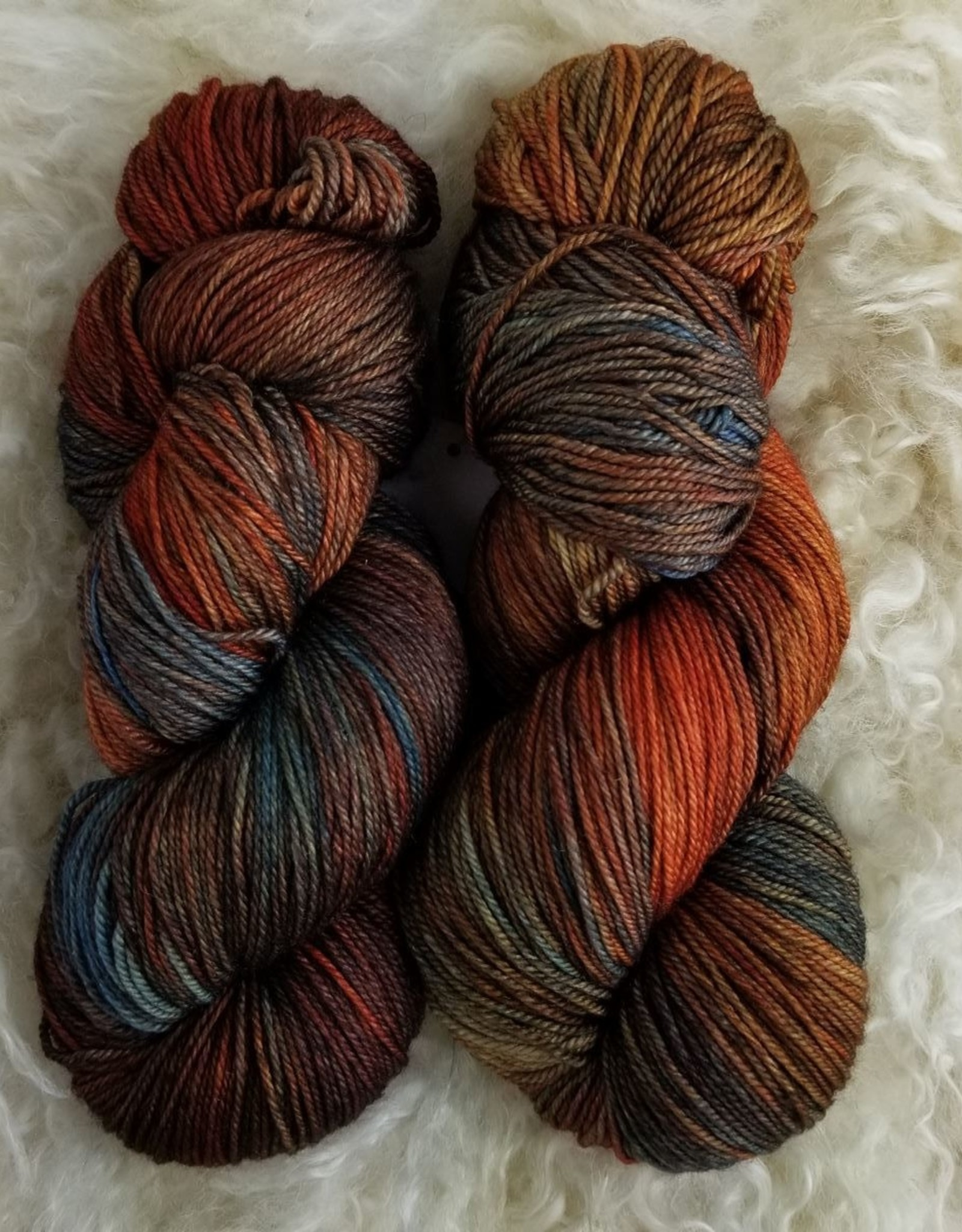 Palouse Yarn Co Cashmere Squeeze Fire Fox