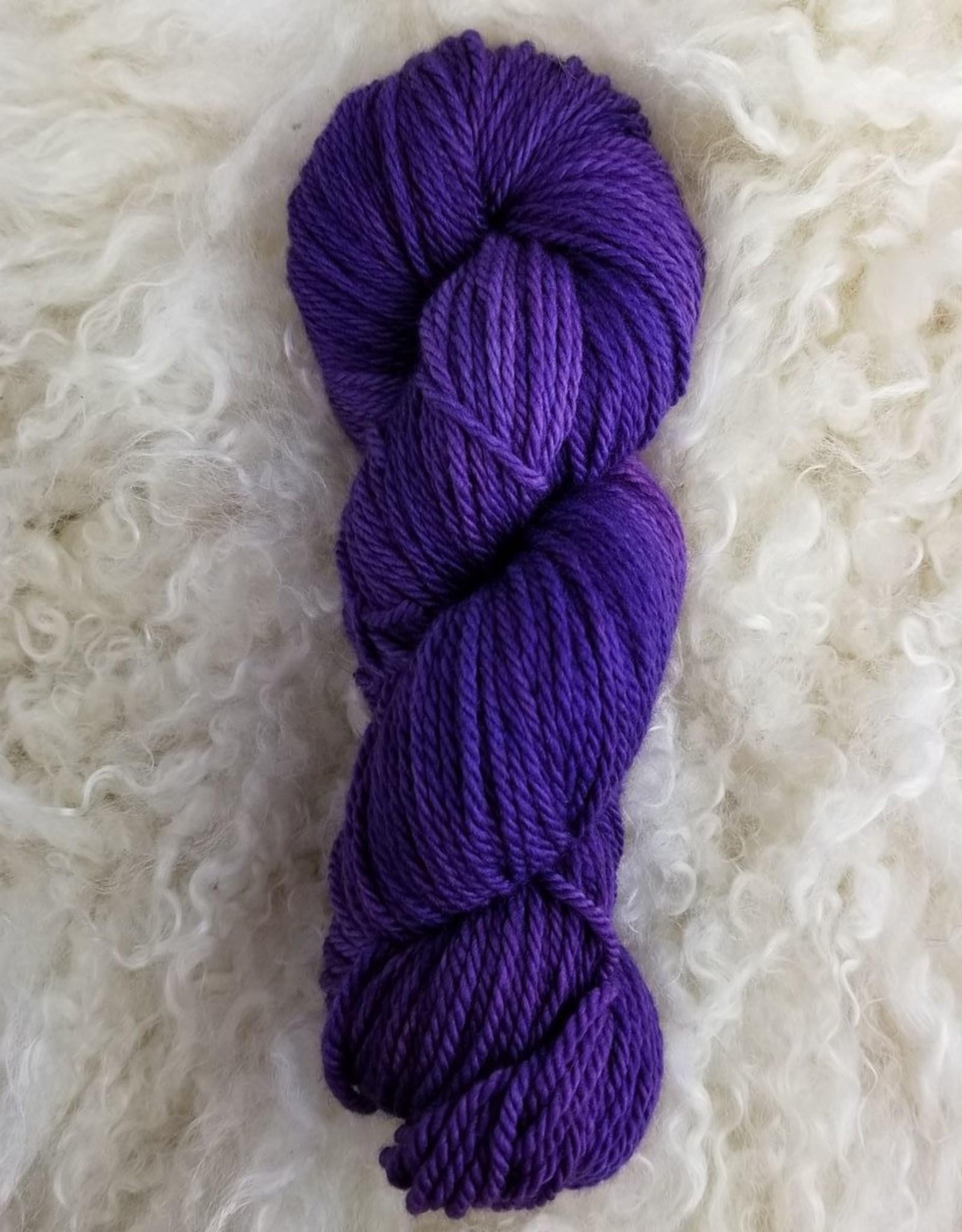 Palouse Yarn Co Owyhee Aran 100g Rainbow Purple