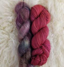 Palouse Yarn Co Mohair Pair Wild Currant