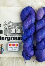 Palouse Yarn Co Lace Set SilkyAL Garden Violets +Mermaid Tails