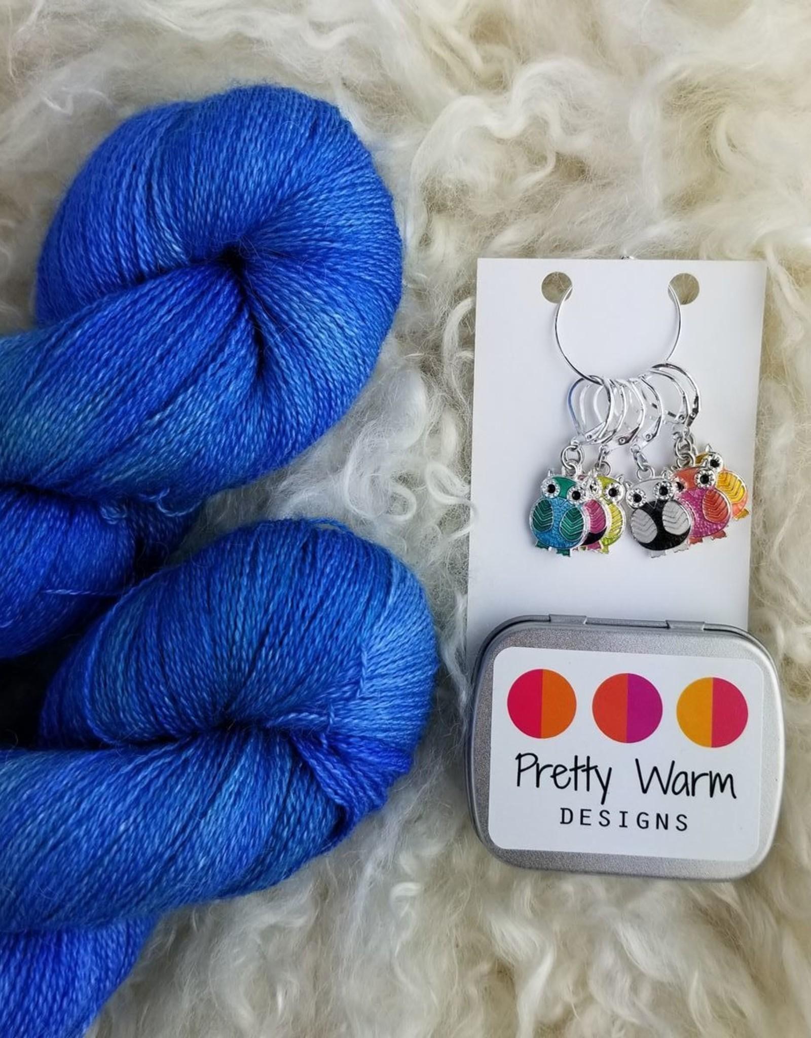 Palouse Yarn Co Lace Set SilkyAL Inner Zen + Owls