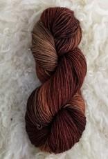 Palouse Yarn Co BFL Sock Antique Mahogany