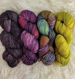 Palouse Yarn Co KIT Snarkometer - Purple is the new black