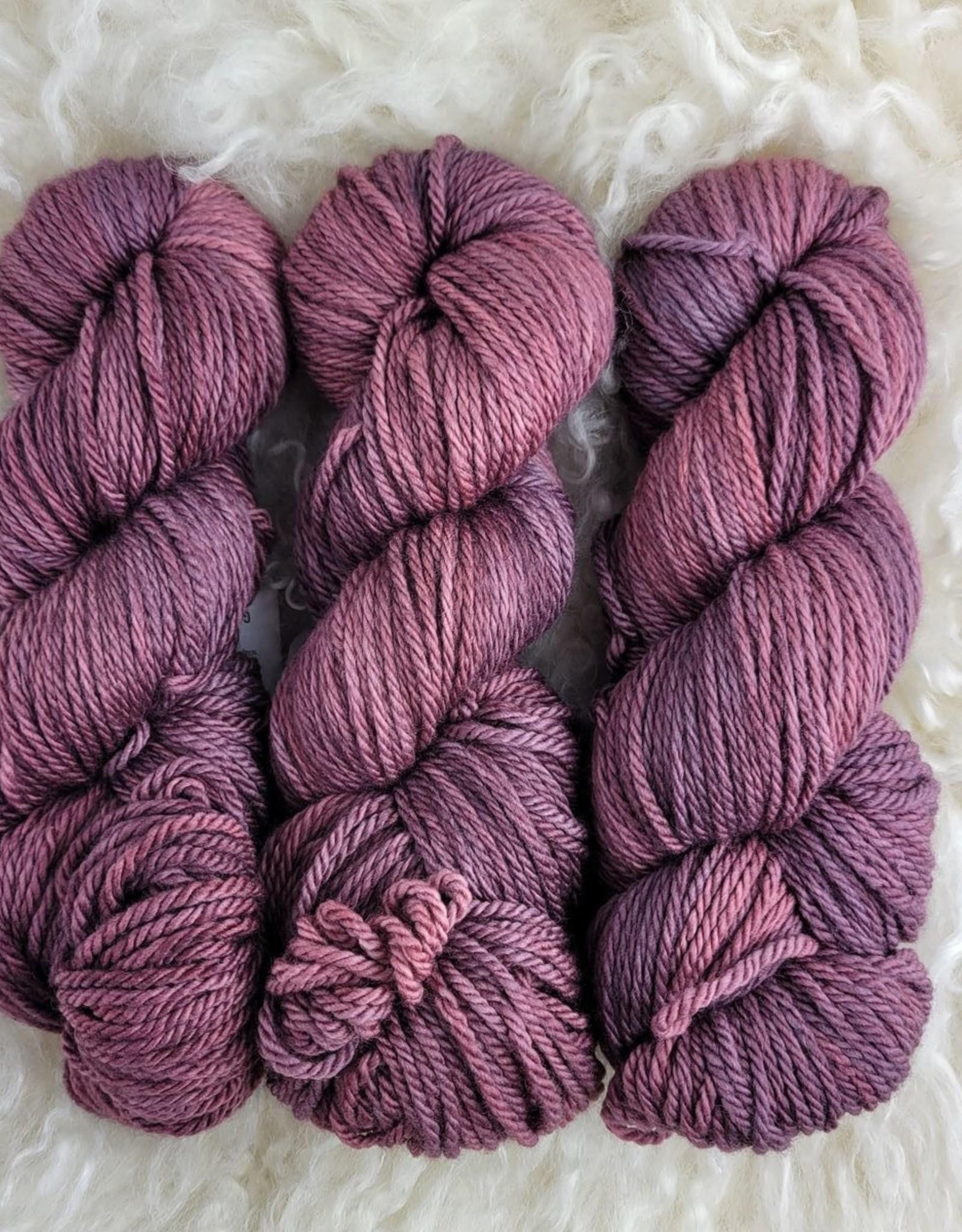 Palouse Yarn Co Owyhee Aran 100g Granny Violet
