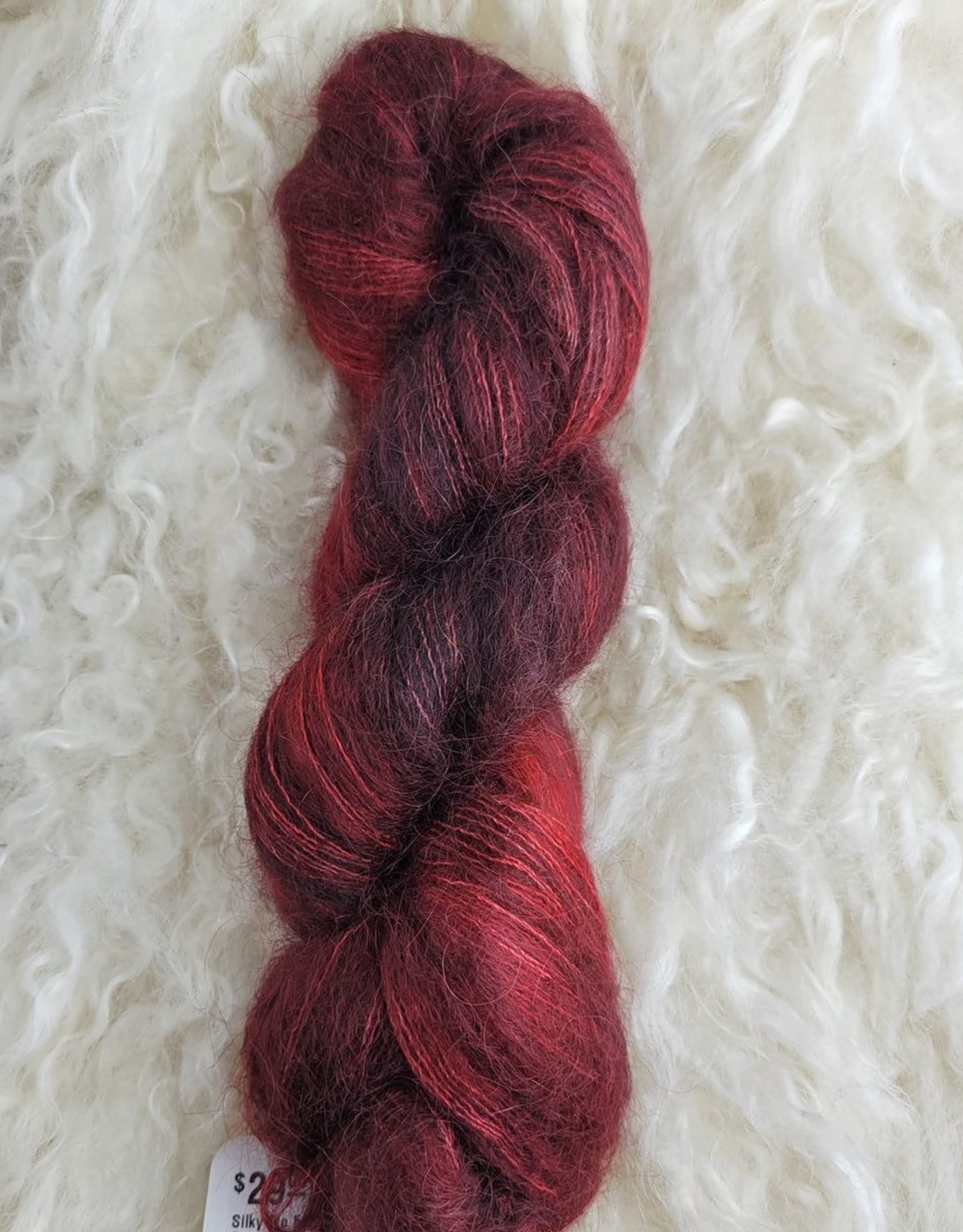 Palouse Yarn Co Silky Mo 50g Scorched Earth