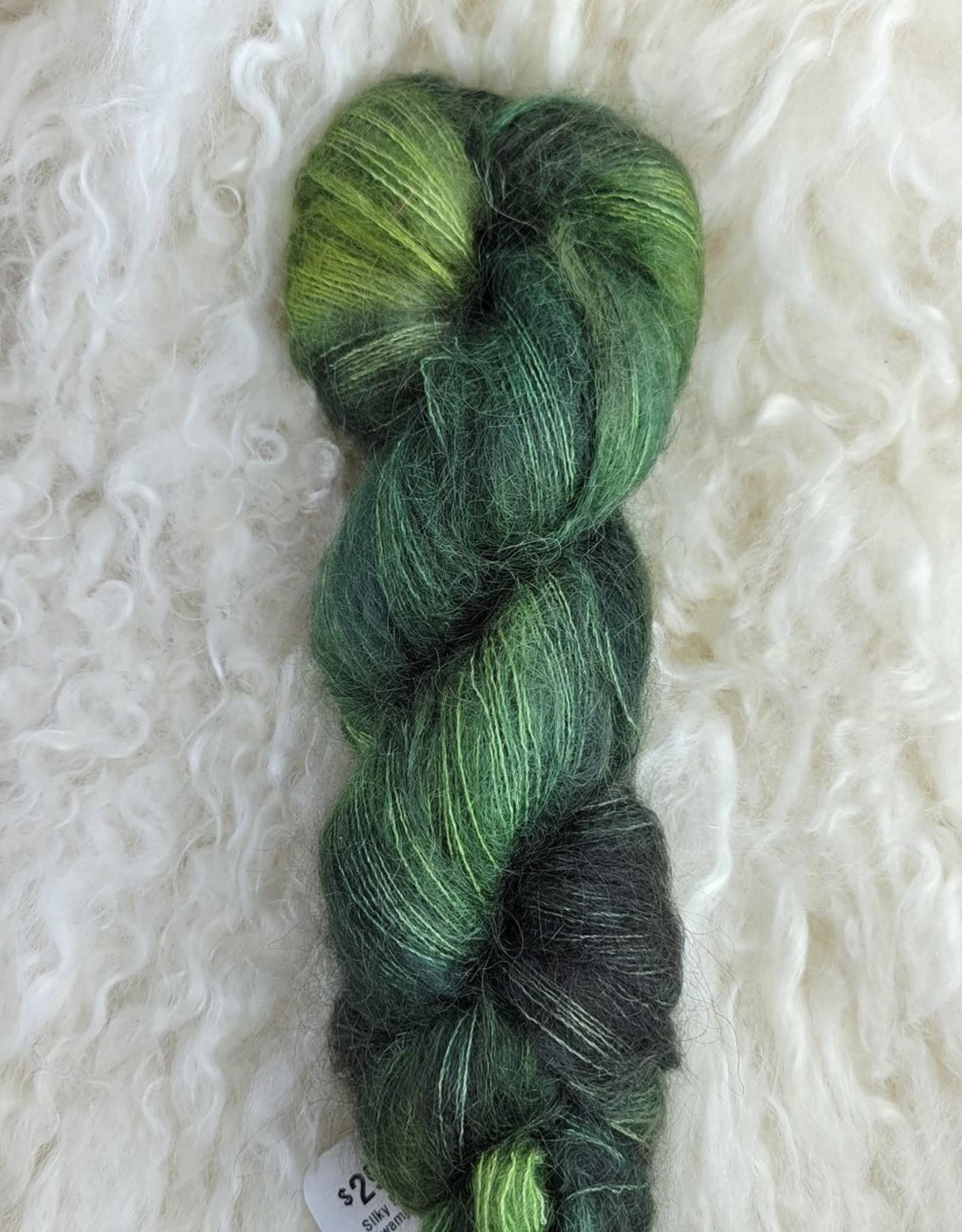Palouse Yarn Co Silky Mo 50g Swamp Thing