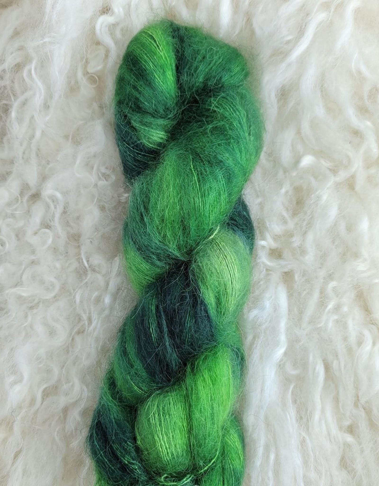 Palouse Yarn Co Silky Mo 50g Wheatgrass