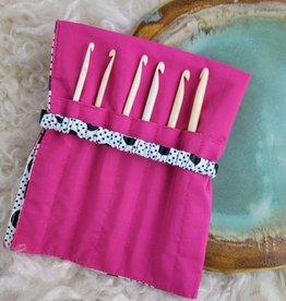 Nirvana Bone Crochet Hook Set + Case