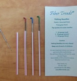 Fiber Trends Needle Felting Needle 4pk
