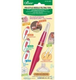 Clover Pen Needle Felting Tool