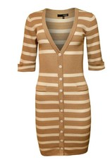 Codigo Emma Striped Sweater Dress