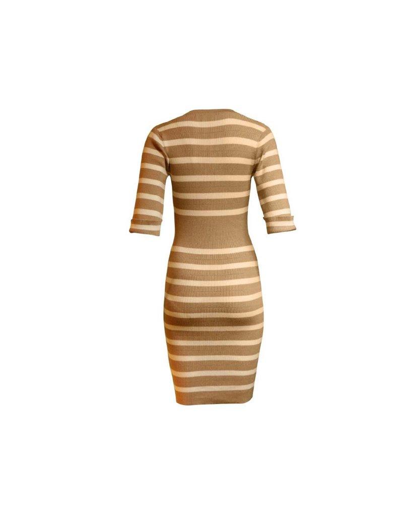 Codigo Emma Striped Sweater Dress