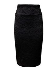 La Scala Cassidy High Waisted Lace Skirt