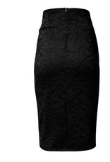 La Scala Cassidy High Waisted Lace Skirt