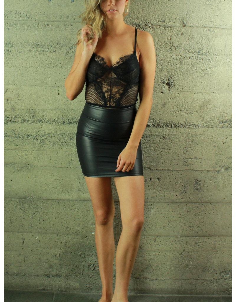 La Reyna Fashion Lace Bodysuit-1