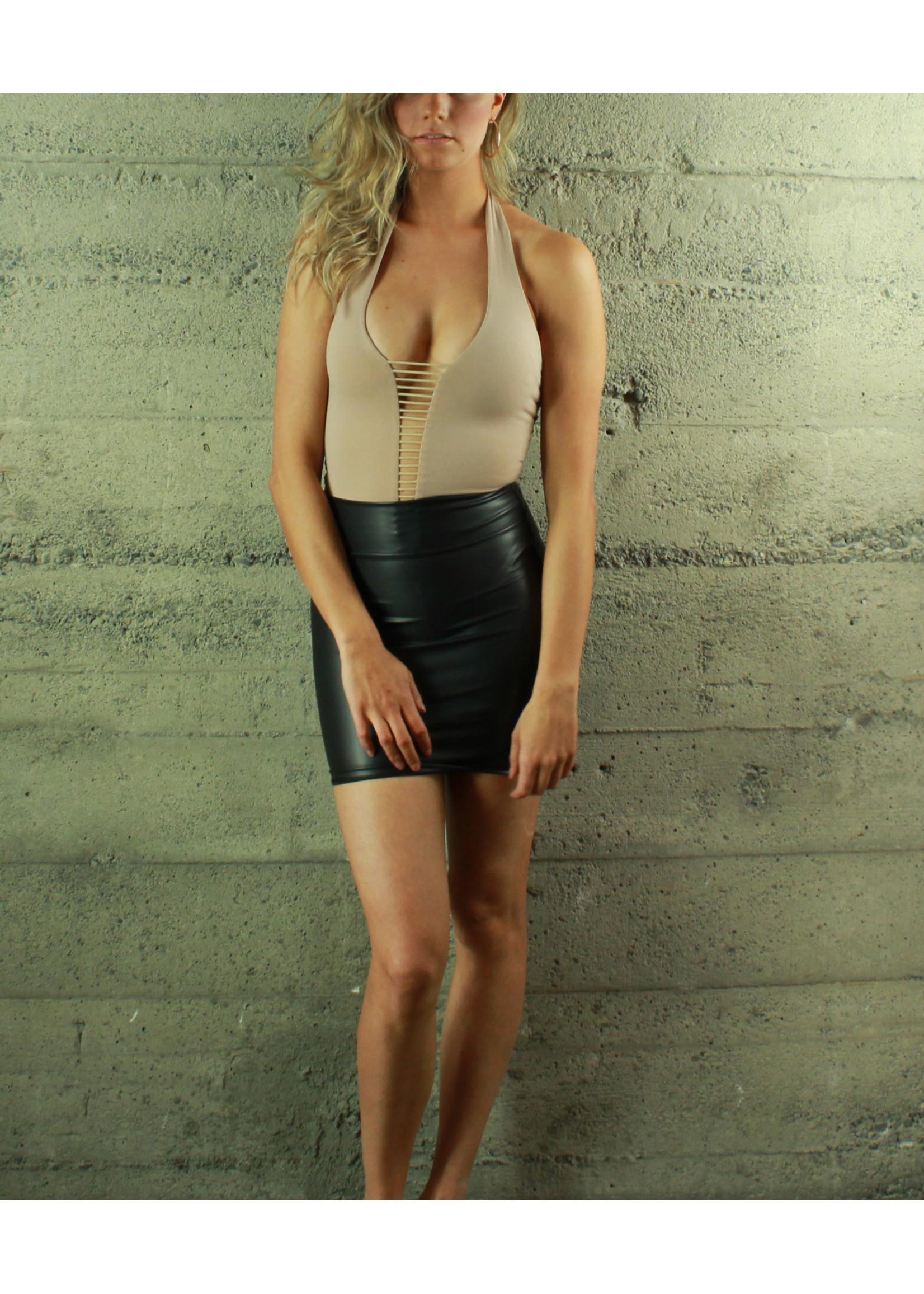 Selfie Leslie Tiffany Strappy Bodysuit