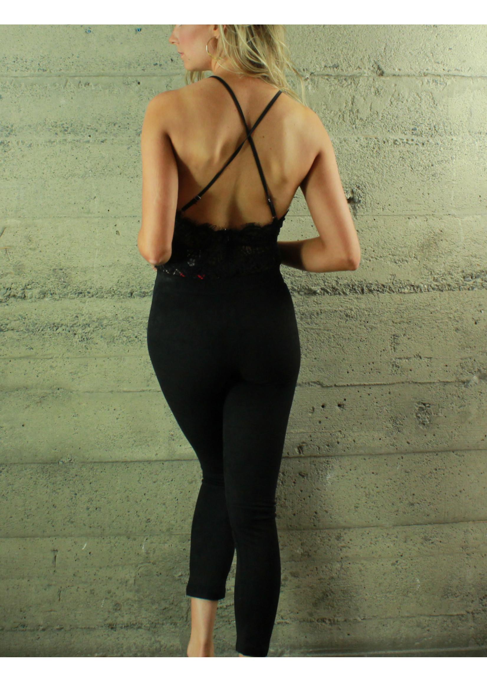 Selfie Leslie Cynthia Lace Bodysuit
