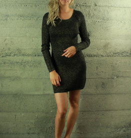 Fate Kyla Sparkly Sweater Dress