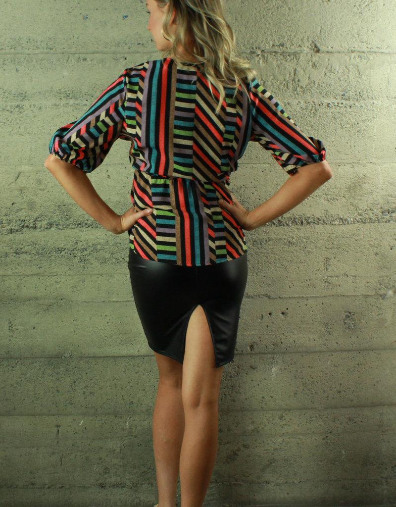 Fashion Leader Raelyn Striped Top