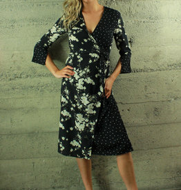Renamed Geelia Wrap Dress
