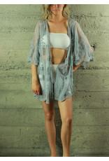 POL Clothing Nova Kimono Grey