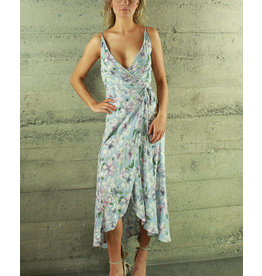 Oscar-ST Kiera Wrap Maxi Dress K165972