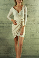 LUXXEL Stephanie Wrap Dress