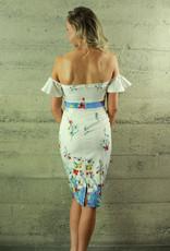 L'atiste Flora  Off-the Shoulder Dress