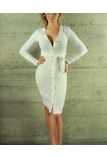 Hot & Delicious Taylor Button Dress