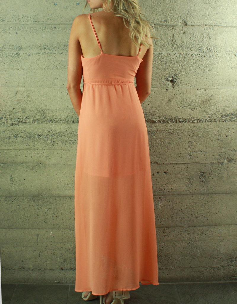 RedBerry Fashion Juliette Flowy Empire Wrap Dress