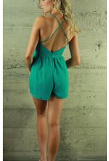 RedBerry Fashion Jenna Crisscross Romper