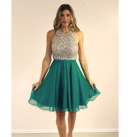Aspeed Addyson Dress Teal