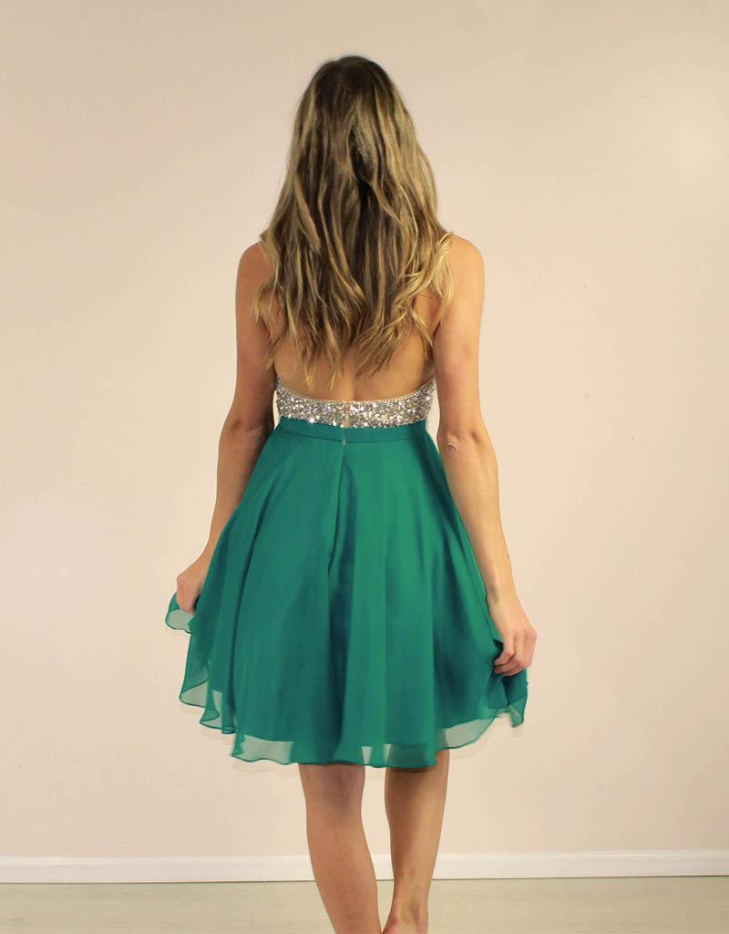 Aspeed Addyson Dress Teal