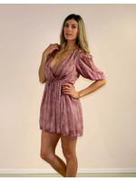 Selfie Leslie Amaara Dress Wine