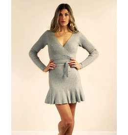 Selfie Leslie Cailyn Dress Grey