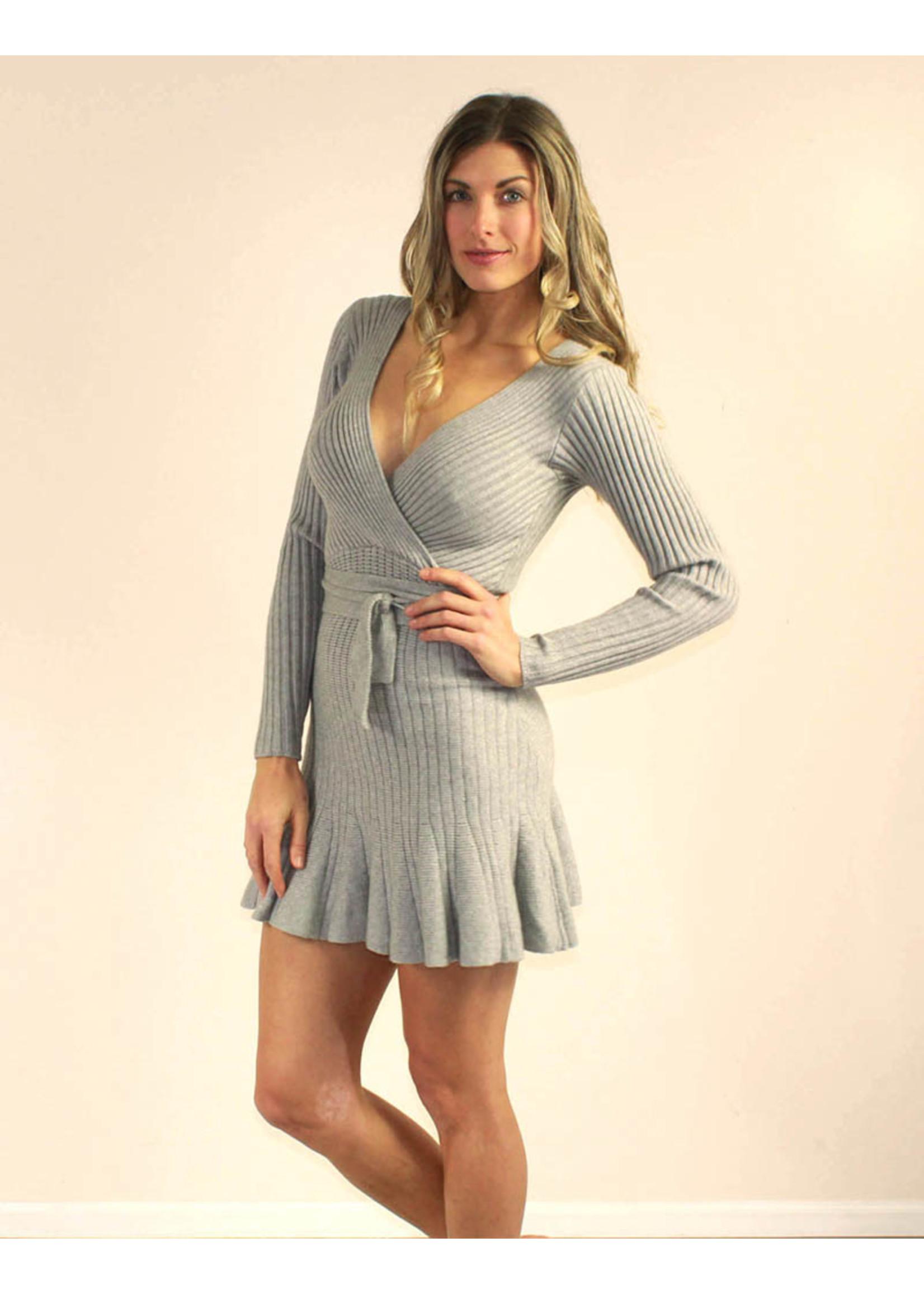 Selfie Leslie Cailyn Dress Grey