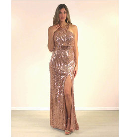 Aspeed Camylle Dress Gold