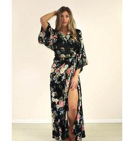 Aakaa Desirae Dress Black