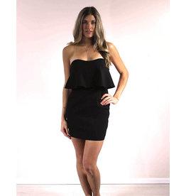 Selfie Leslie Dita Strapless Midi Dress