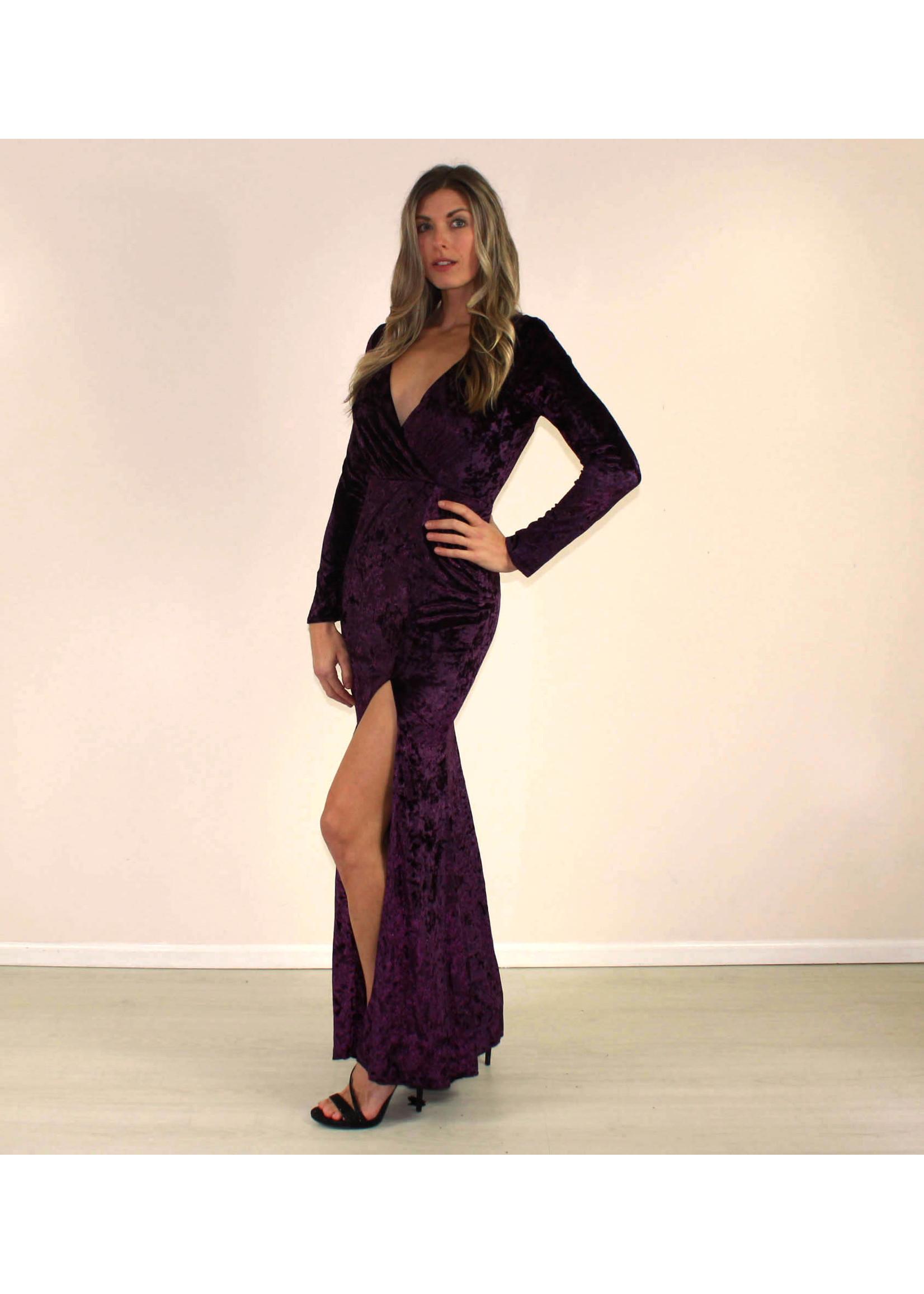Maniju Etta Dress Purple