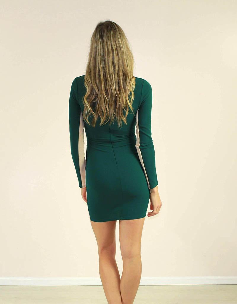 Privy Georgia Dress Green