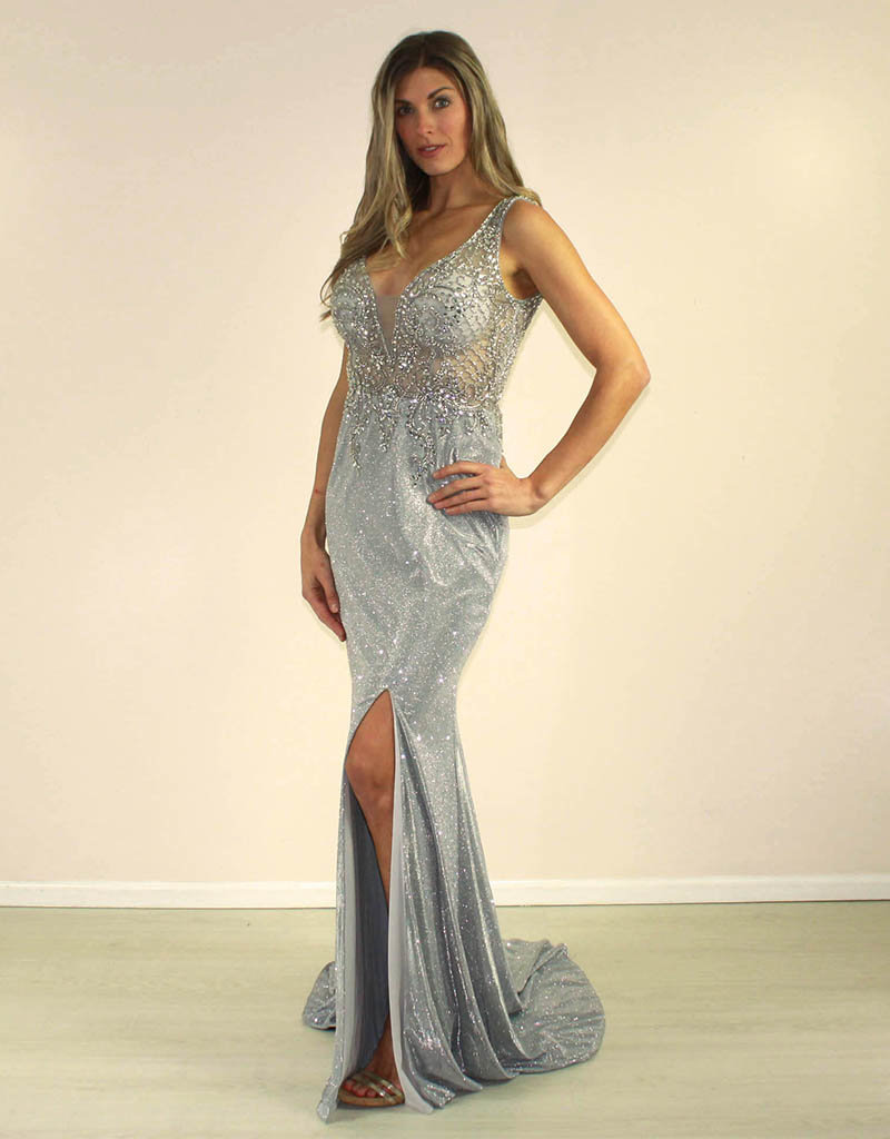 Aspeed Glorian Dress Silver