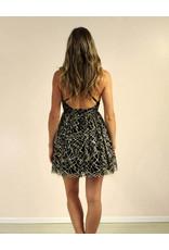 LUXXEL Jayline Dress Gold